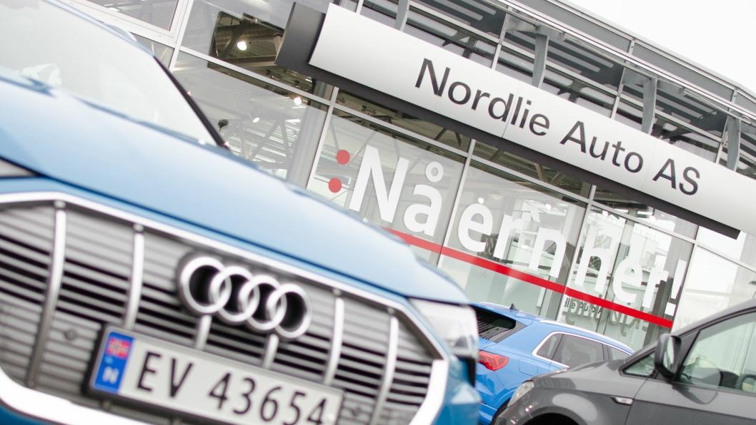 Nordlie Auto AS i Moss er Audi-, Skoda- og Volkswagen-forhandler.