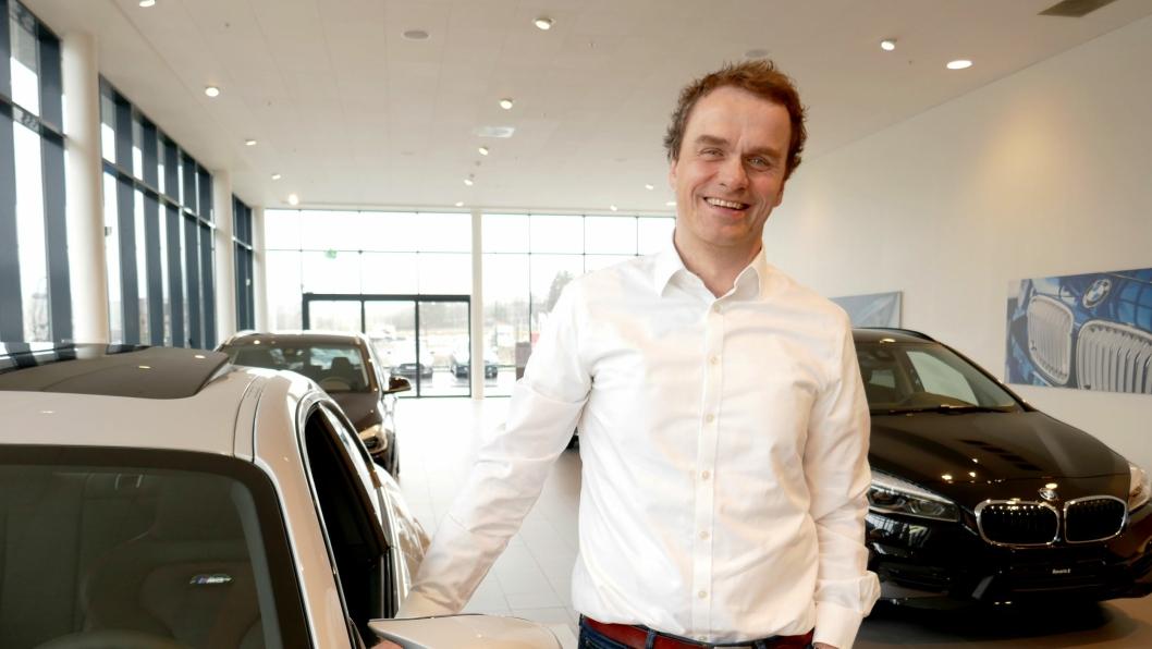 - Vi forventer at markedet for bremser vil vokse, sier adm. dir. Stig Sæveland i Hedin Automotive.