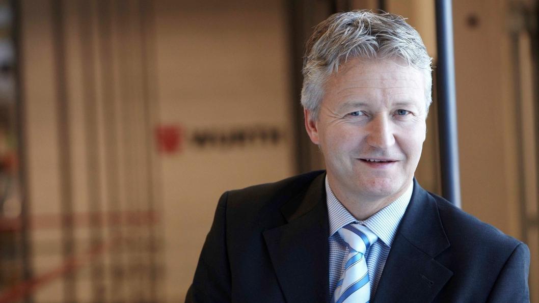 Administrerende direktør Svein Oftedal i Würth Norge AS