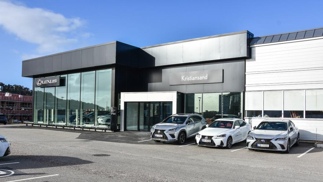 Lexus Kristiansand er kåret til være den beste forhandleren i Nord-Europa.