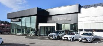 Norsk Lexus-forhandler på topp i Europa