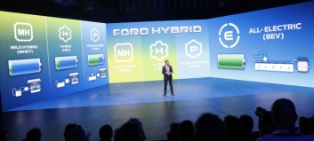 Elektrisk lys i Ford-tunnelen