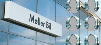En av disse kan bli den nye sjefen for Møller Bil