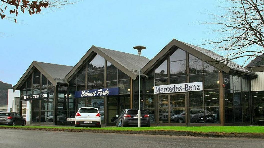Bilhuset Førde er en flere frittstående forhandlerne i Sogn og Fjordane som utelukkende forhandler Bertel O. Steen-merker.