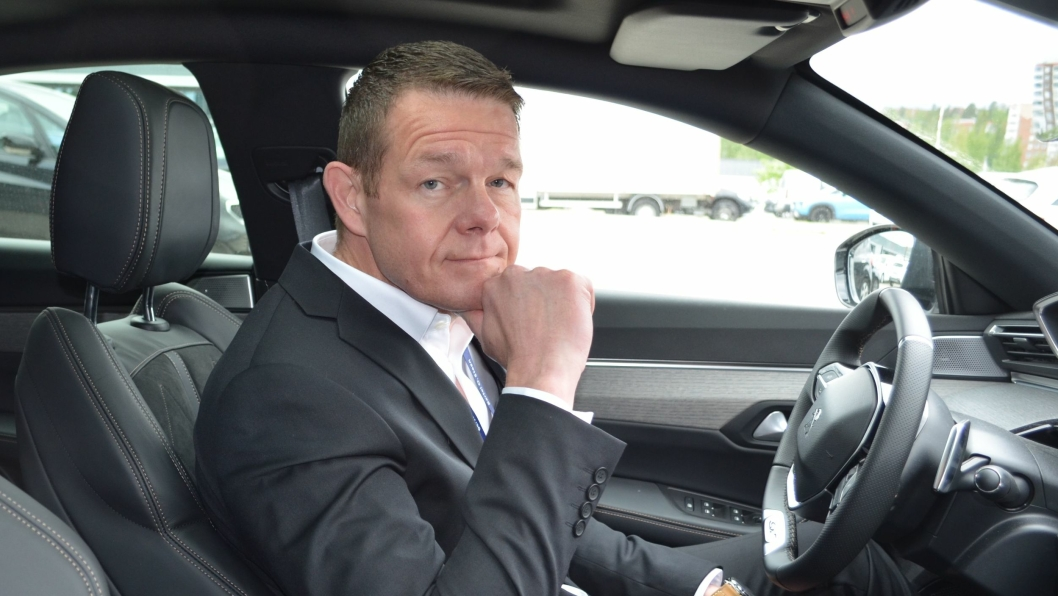 BOS Detalj-sjef Torbjørn Myrhaug.