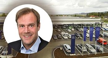 Salgssvikt for Motor-Trade - vokser videre på andre områder