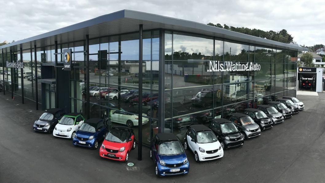 Nils Wathne Auto er en frittstående Mercedes Benz-forhandler i Haugesund.