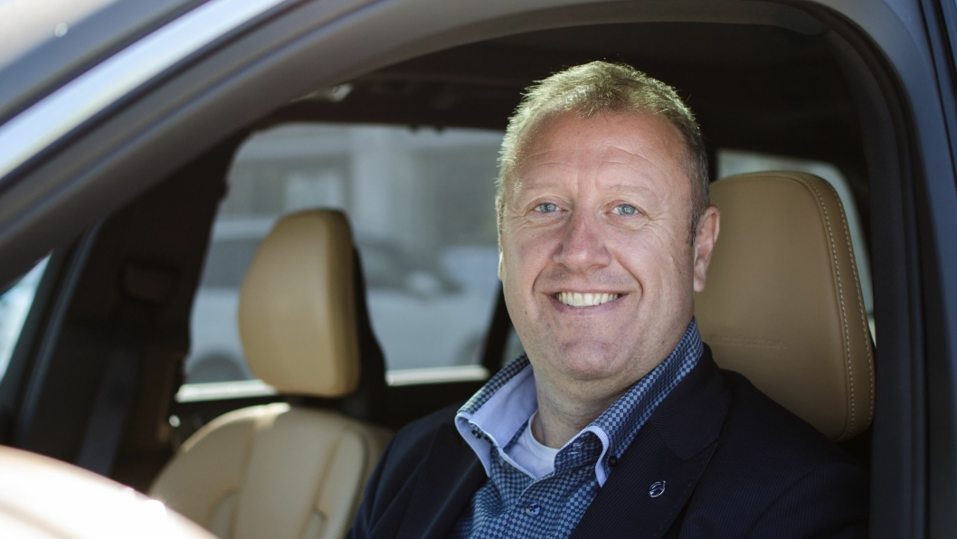 Sten Engebretsen, servicemarkedsdirektør i Volvo Car Norway.
