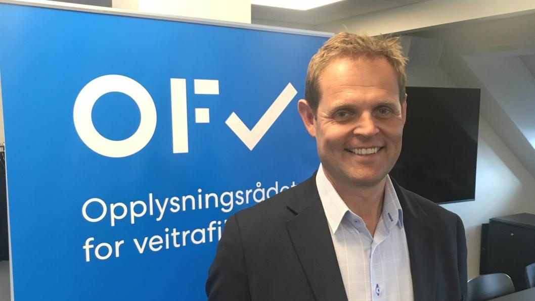Nettverksdirektør Snorre Skeie i Circle K.