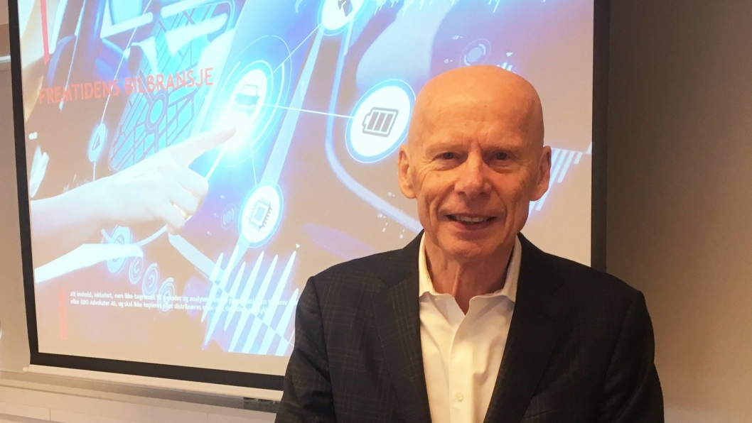 Arne Berg i Automotive Consulting Group AS