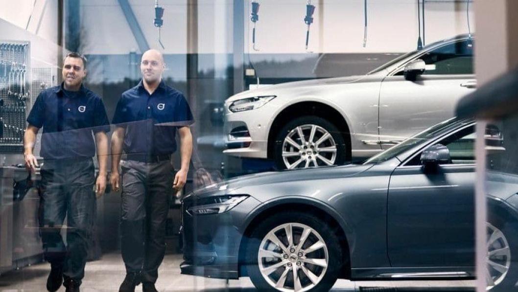 Volvo er på pallen når det gjelder servicemarked i AutoIndex.