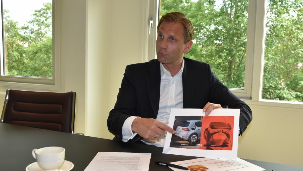 Petter Hellmann er tydelig på at dagens kjernevirksomhet må ivaretas og videreutvikles, parallelt med satsingen på nye forretningsområder.