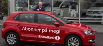 SpareBank1 lanserer bilabonnement