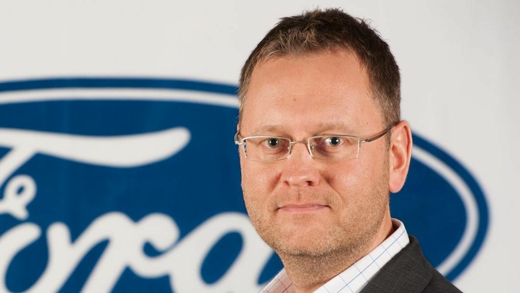 Per Gunnar Berg, administrerende direktør Ford Motor Norge AS.