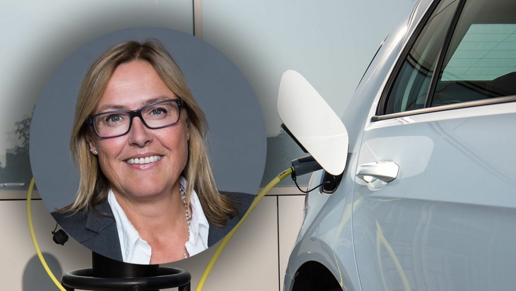 Administrerende direktør Christina Åhlander i FINFO.