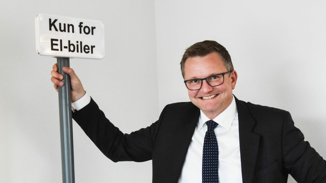 Kommersiell direktør i Arval AS, Stian Eriksen.