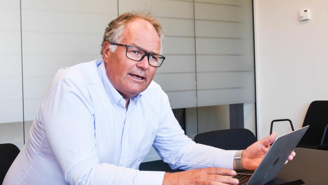 Styreleder i Dekkstra, Petter Smebye.