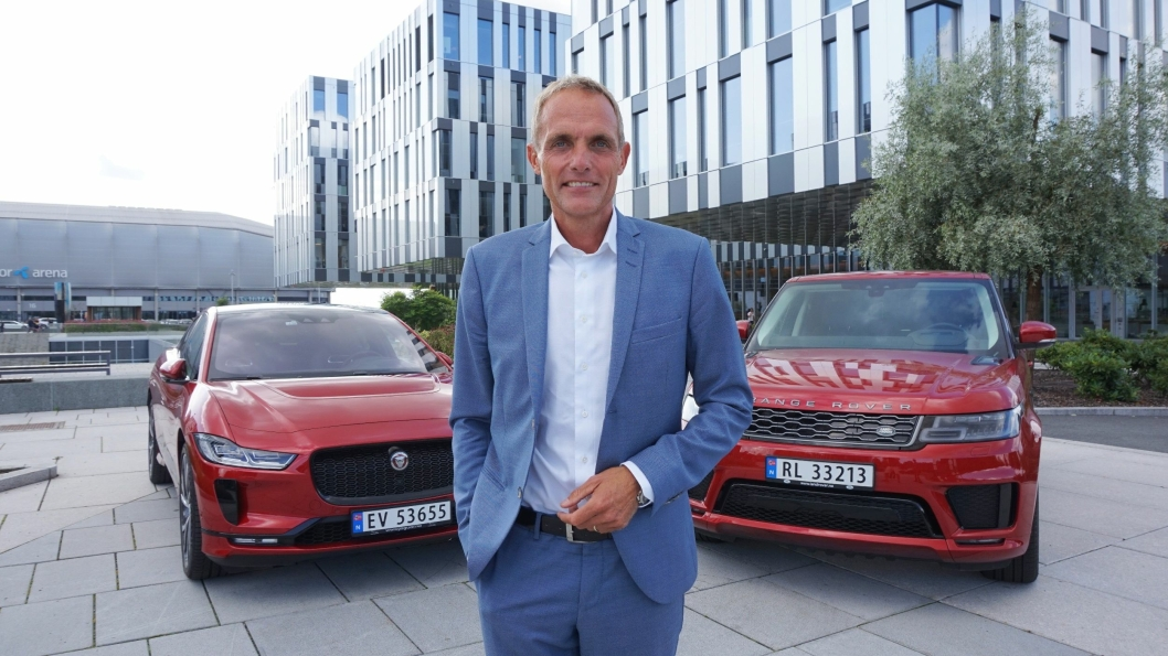 Country director hos Jaguar Land Rover Norway, Marius Hayler.