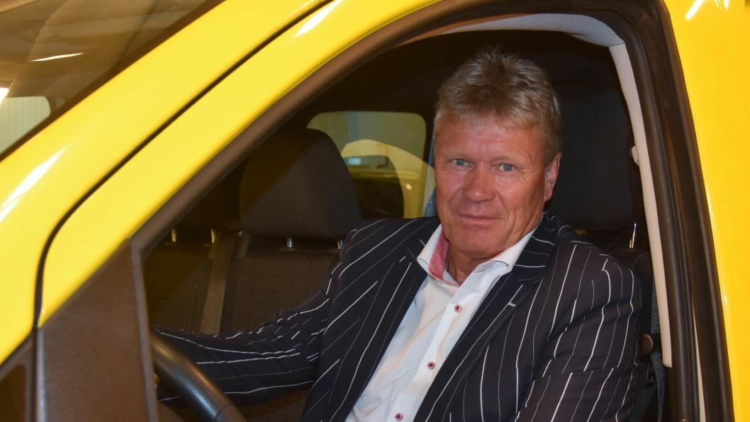 Morten Bjørlo er adm. direktør i Carglass AS.