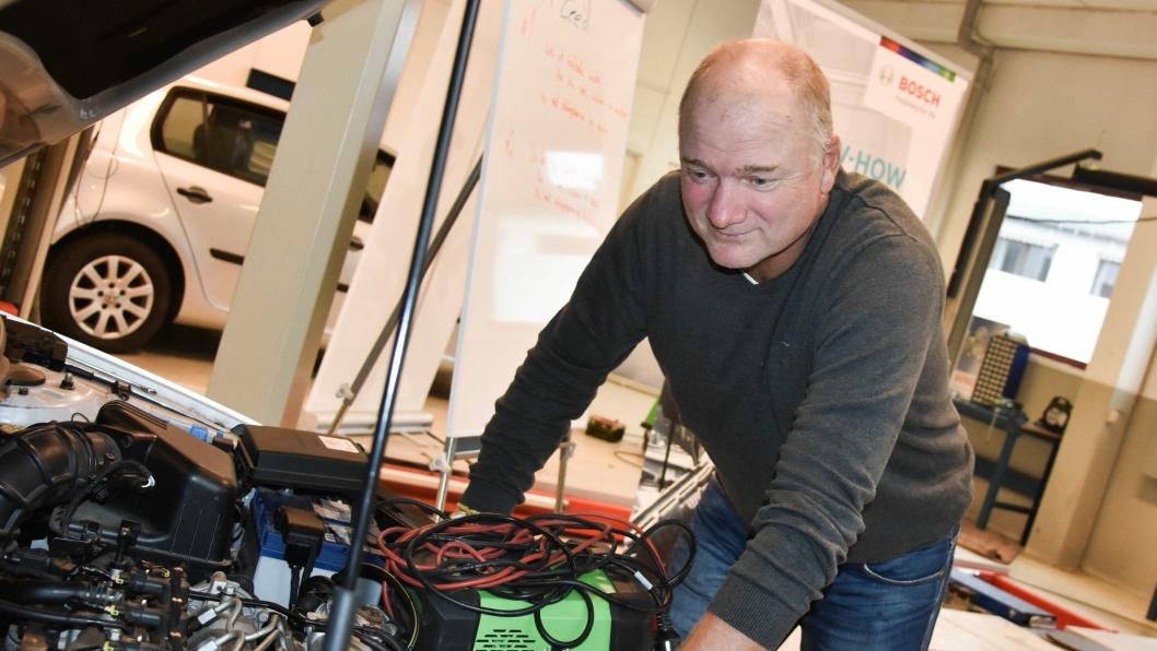 Terje Wiik, daglig leder for KBV Norge AS.