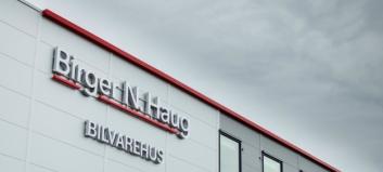 Birger N. Haug skal selge RSA-merkene fra sitt nye bilvarehus