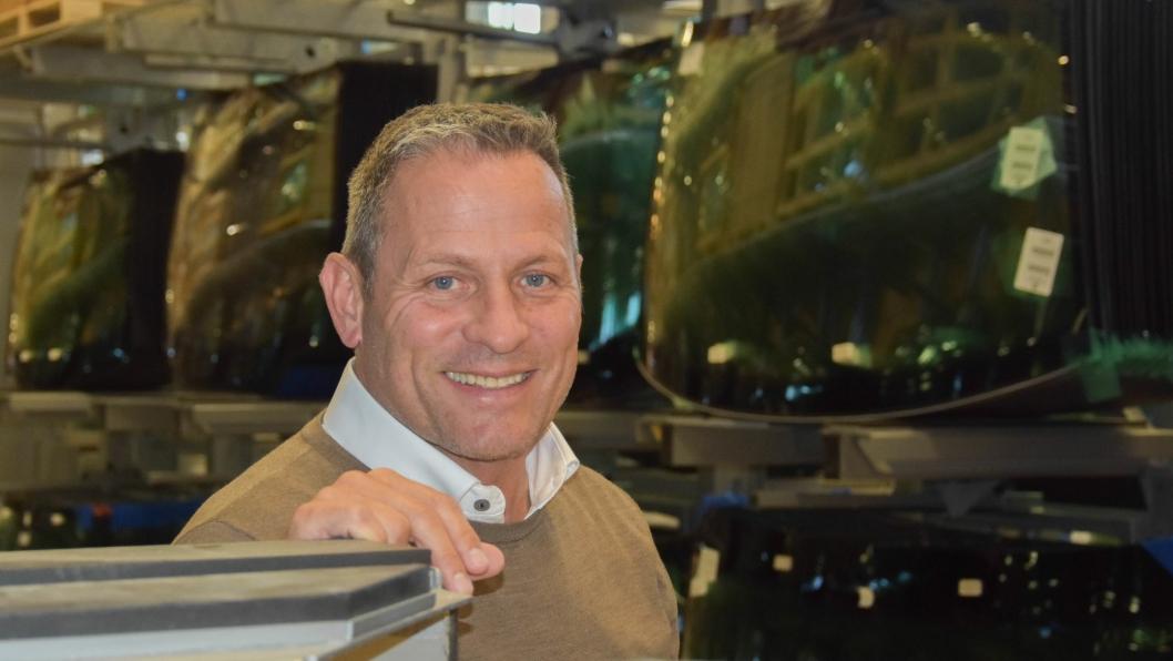 Roy Ellingsen er salgs- og markedssjef i Bilglassgruppen.