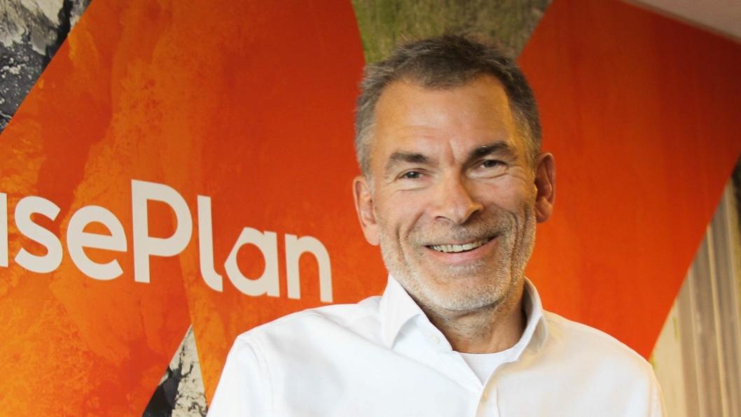 Anders Ree-Pedersen, administrerende direktør i LeasePlan.