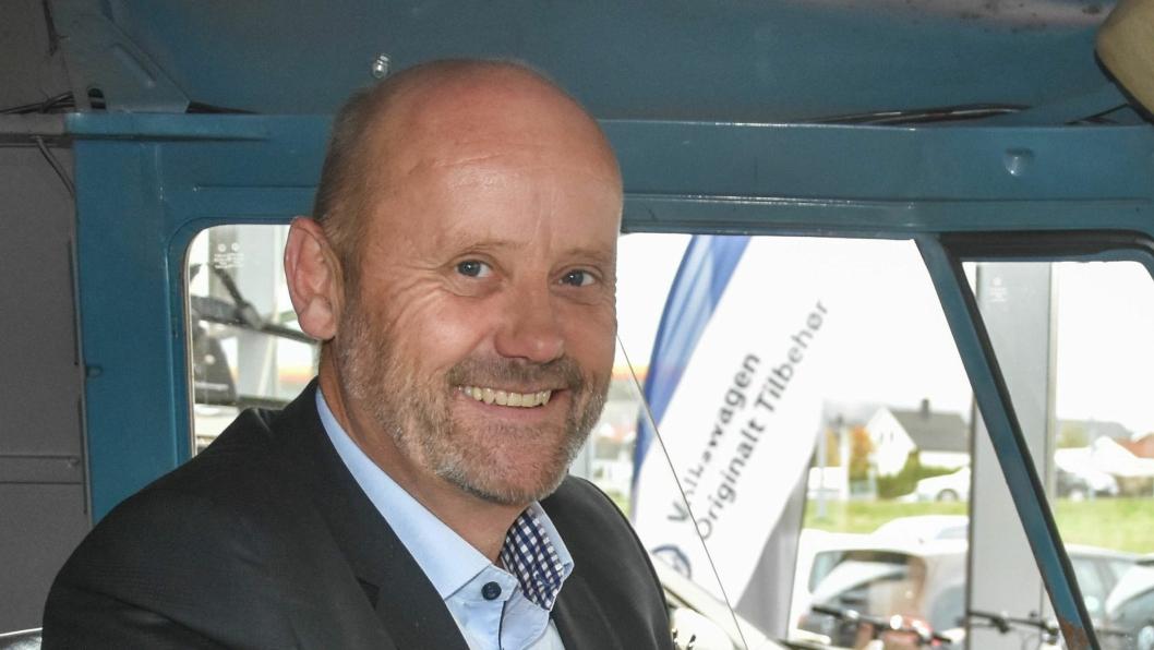 Jarle Midtbø er daglig leder for Gumpens Auto Grenland.