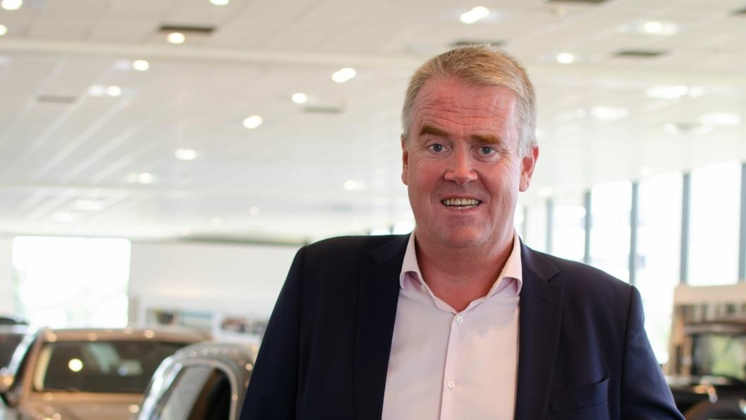Administrerende direktør i Bilia Personbil AS, Frode Hebnes.