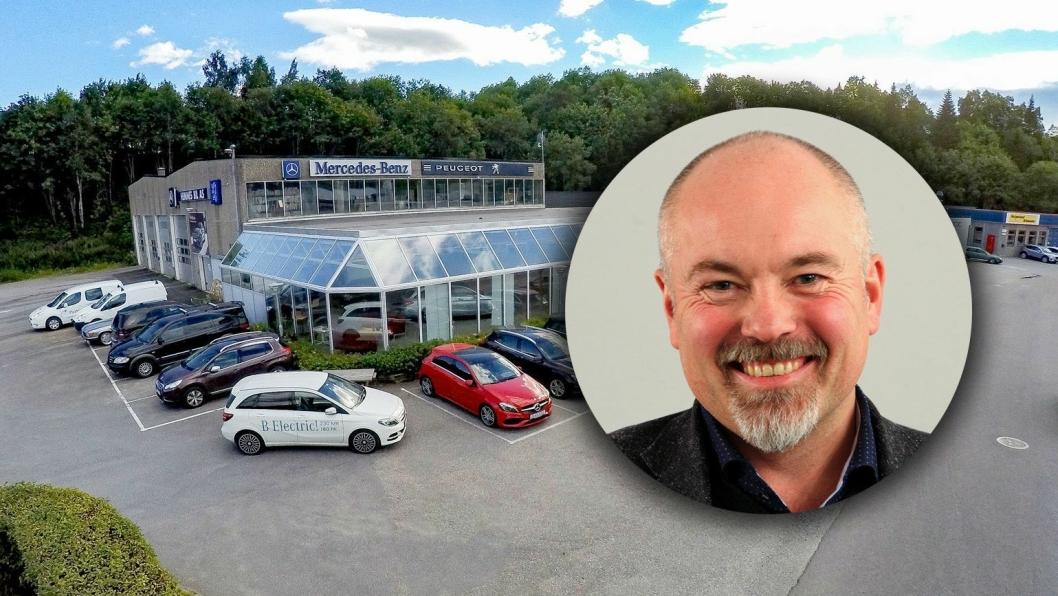 Chriss Marken blir daglig leder for nye Hemnes Bil AS.
