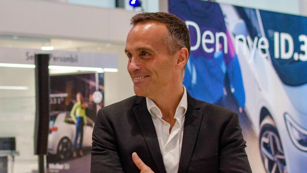 Volkswagen-sjef Harald Edvardsen-Eibak.