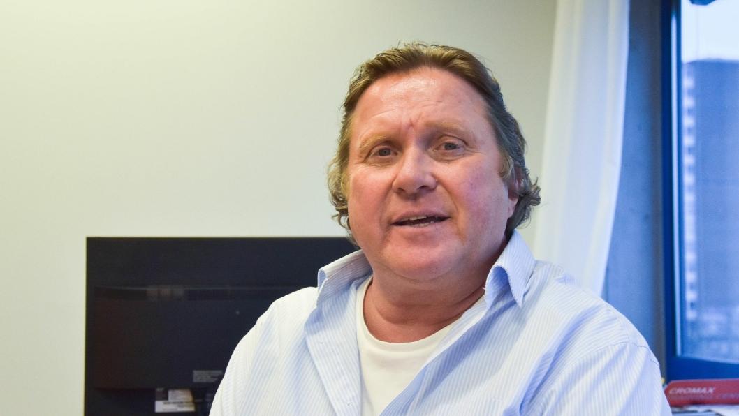 Daglig leder Tom Roger Hammer i Billakkspesialisten AS.