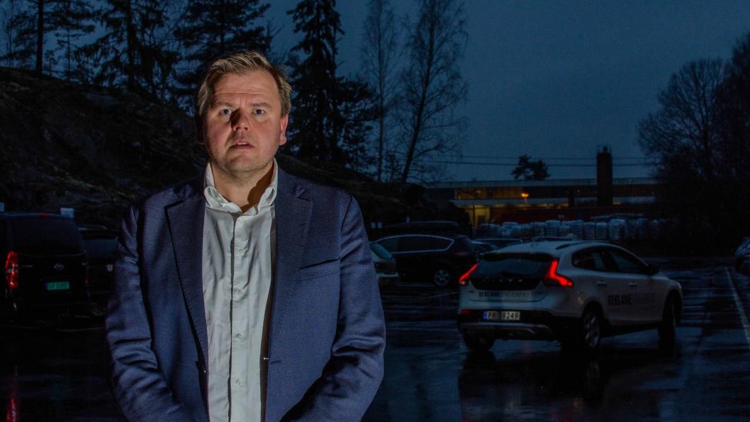 Konserndirektør i Frydenbø Group, Erik Diesen.