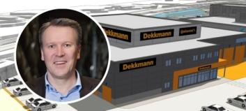 Dekkmann omorganiserer i Trondheim og flytter i Bergen