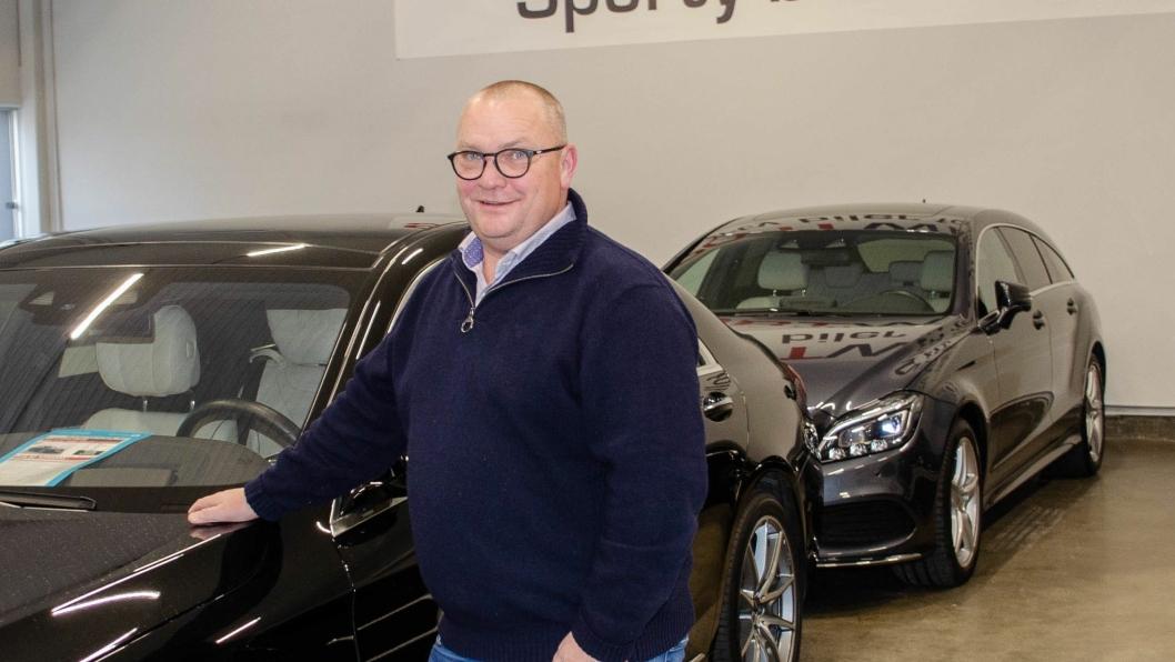 Kjetil Grydeland er daglig leder for Sportwagen AS.