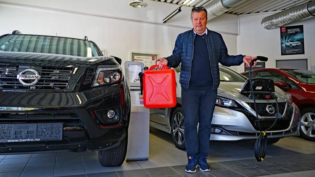 Rammevilkårene for bilbransjen er mer uforutsigbare enn noensinne er budskapet Trond Franzen har til Norges Bank som en del av Regionalt Nettverk. Franzen er eier og daglig leder av Nissan-forhandler Bentro Bil i Narvik