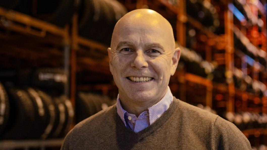 Raymond Myrland, nyvalgt styreleder for Forhandlerforeningen Dekk og Felg.