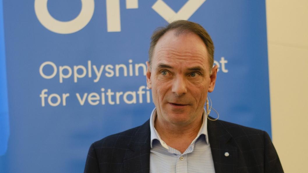 Adm. direktør Stig Morten Nilsen tror det vil bli solgt 148.000 nye personbiler i 2020. Under visse forutsetninger.