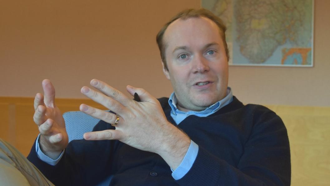 Janno Gröne er administrerende direktør for NDS Group AS. Foto: Trygve Larsen