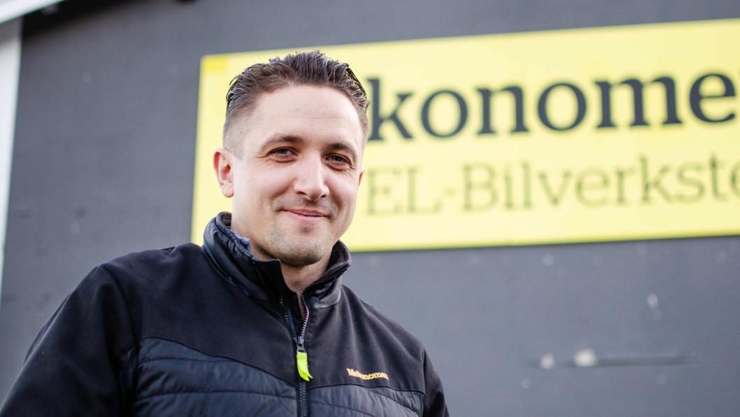Valdemar Vaiciunas er gründer og daglig leder i Elbilmek AS.