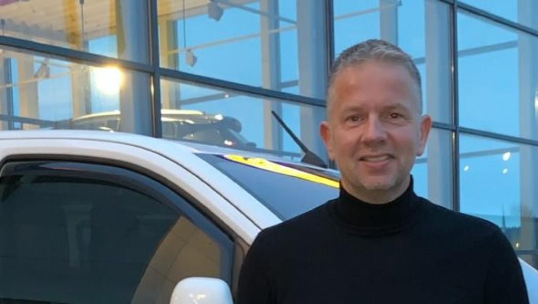 Øyvind Bjørgan, daglig leder i Nord-Auto, starter ny Opel- og Kia-forhandler i Namsos.
