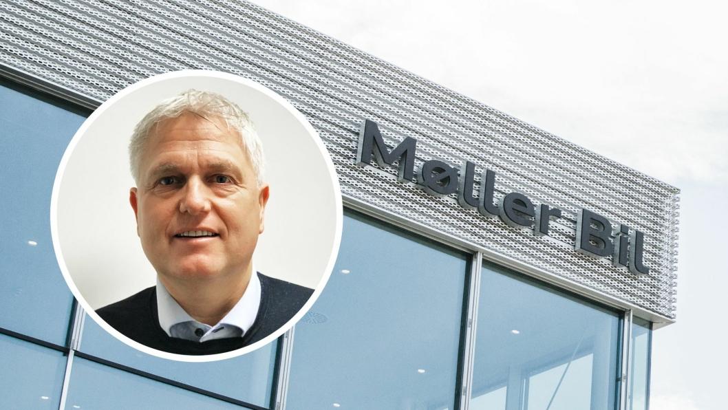 Kurt H. Eskevik går fra stillingen som daglig leder i Møller Bil Haugesund til å bli leder for skade i Møller Bil.