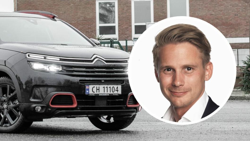 Ole Stefan Nedenes er ny merkesjef for Citroën hos importøren.