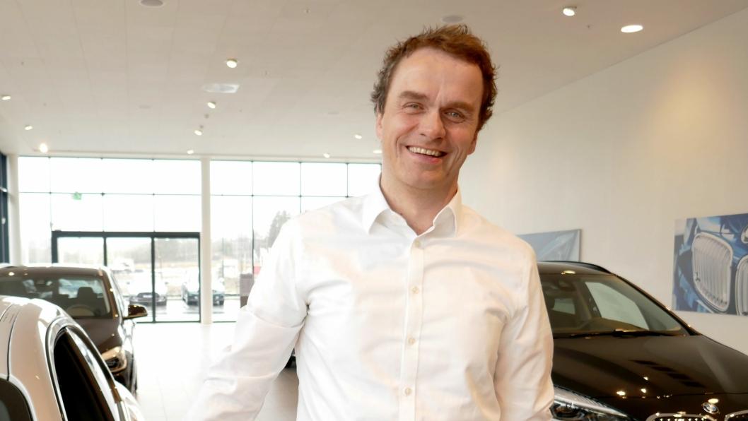 Stig Sæveland, administrerende direktør i Hedin Automotive.
