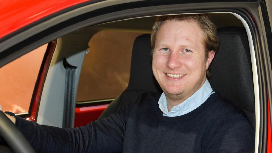 Leif Christian Gromstad, daglig leder i Gromstad Motor Stoa AS.