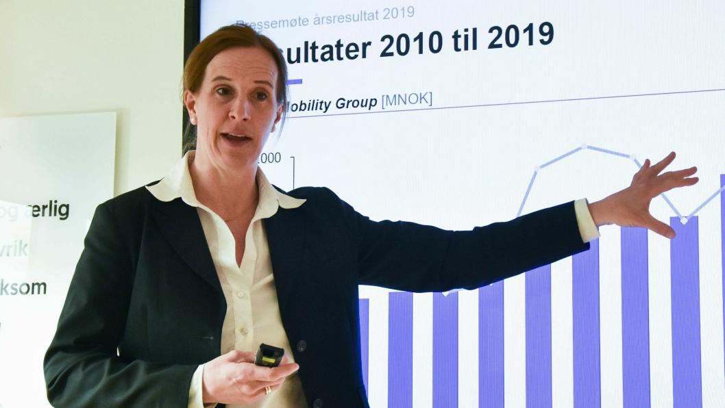 Finansdirektør i Møller Mobility Group, Anna Nord Bjercke.