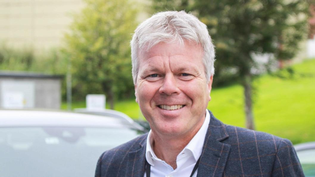 Adm. direktør Arne Lyslo Kristiansen i Volkswagen Møller Bilfinans.