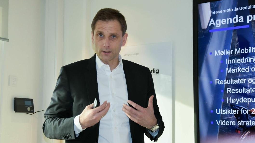 Konsernsjef i Møller Mobility Group, Petter Hellmann