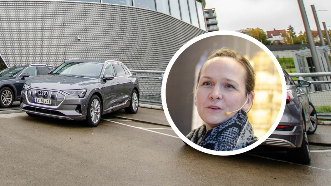 Elin Sinervo, Audi-sjef hos Harald A. Møller.