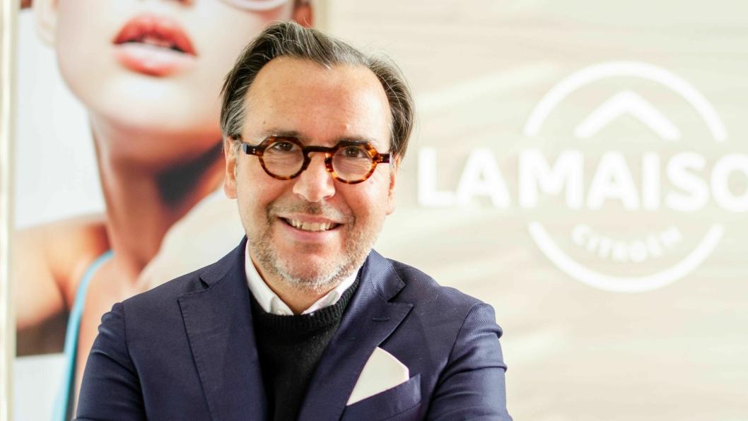 Arnaud Belloni, Senior Vice President of Global Marketing Communications & Sport i Citroën.